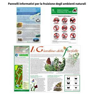 Pannelli cartelli comunicazione ambientale